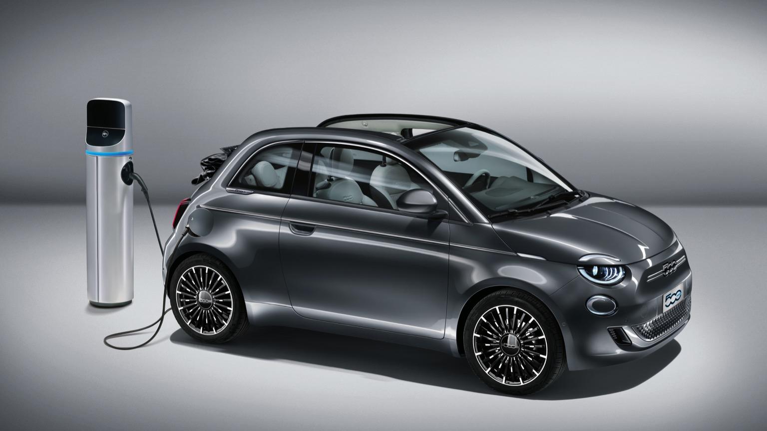 Fiat 500e Convertible (2020)