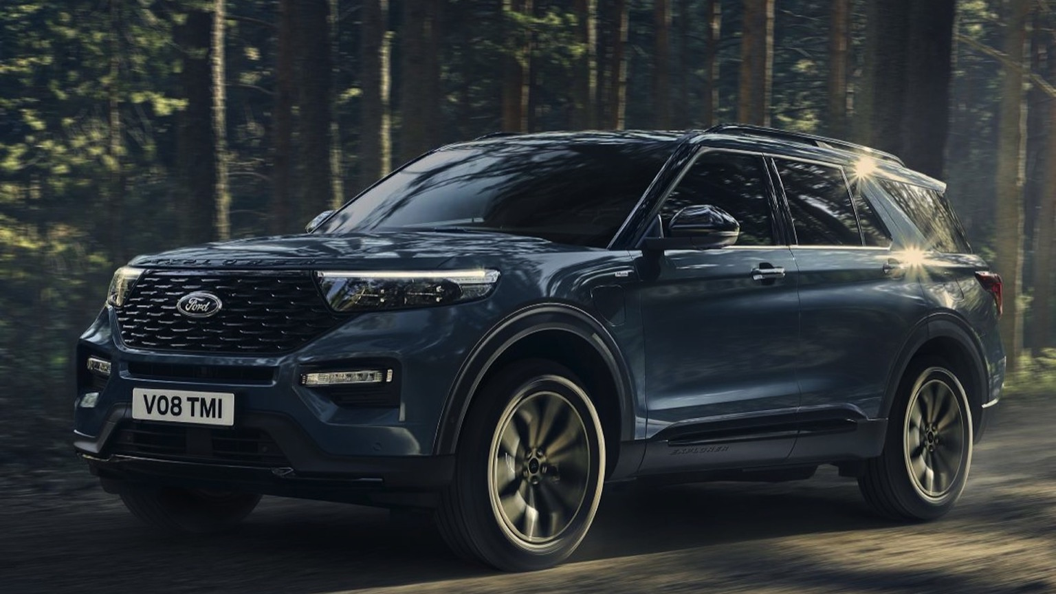 Ford Explorer Plug-in Hybrid (2020)