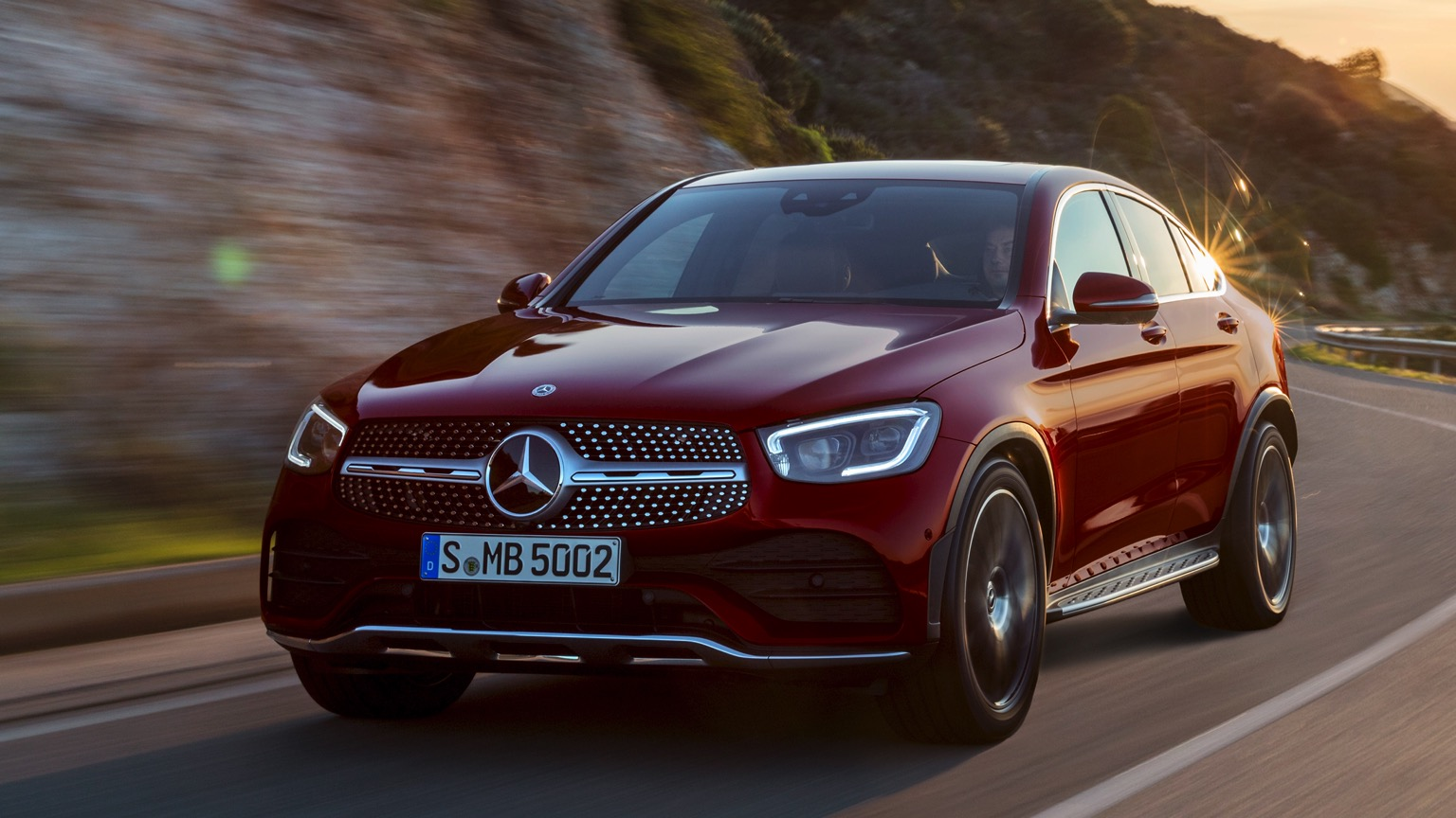 Mercedes GLC 300 de 4MATIC Coupe (2020)