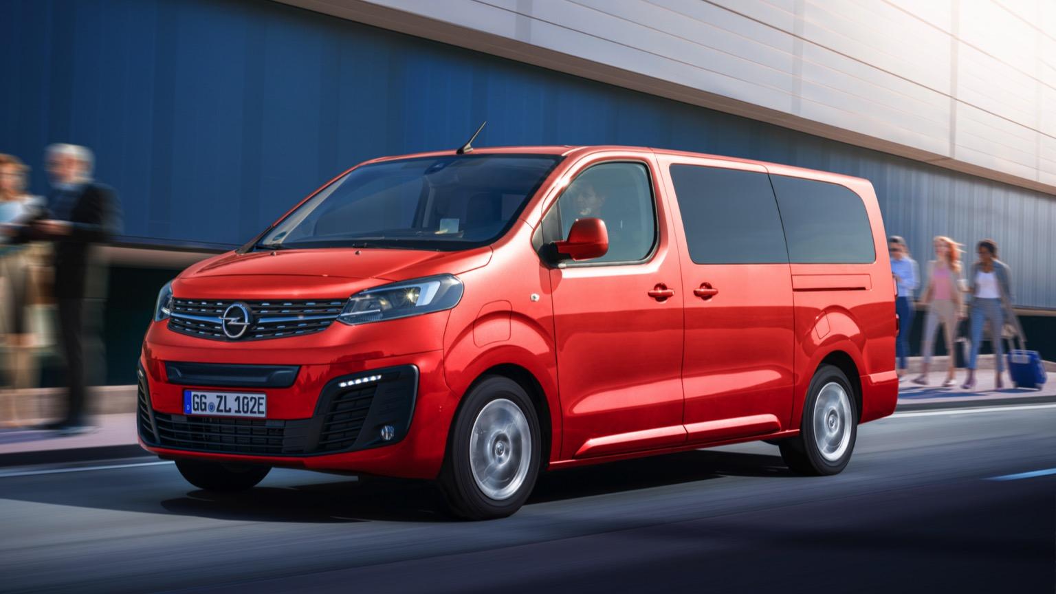Opel Zafira-e Life M 50 kWh (2020)