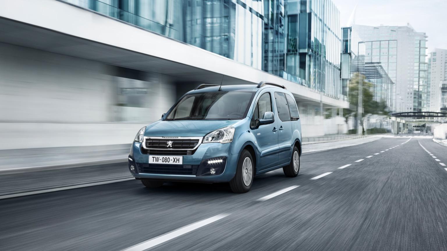 Peugeot Partner Tepee Electric (2017)