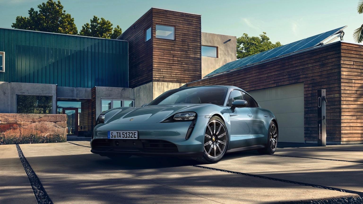Porsche Taycan 4S (2020)