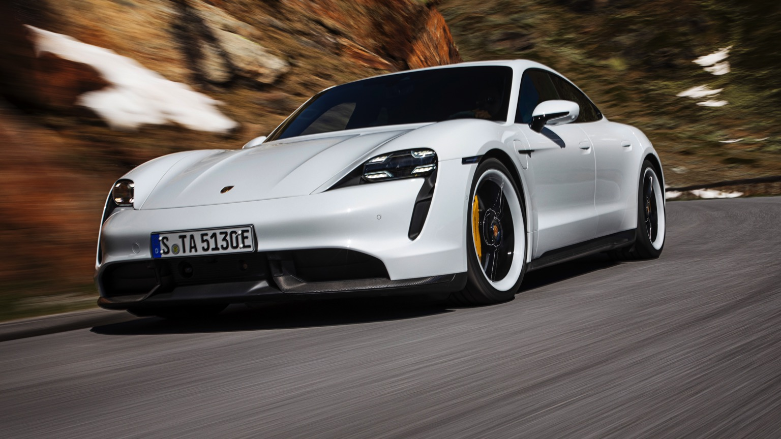Porsche Taycan Turbo S (2020)