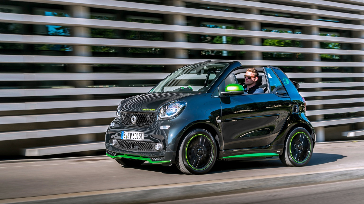 Smart ForTwo Cabrio Electric Drive (2017)