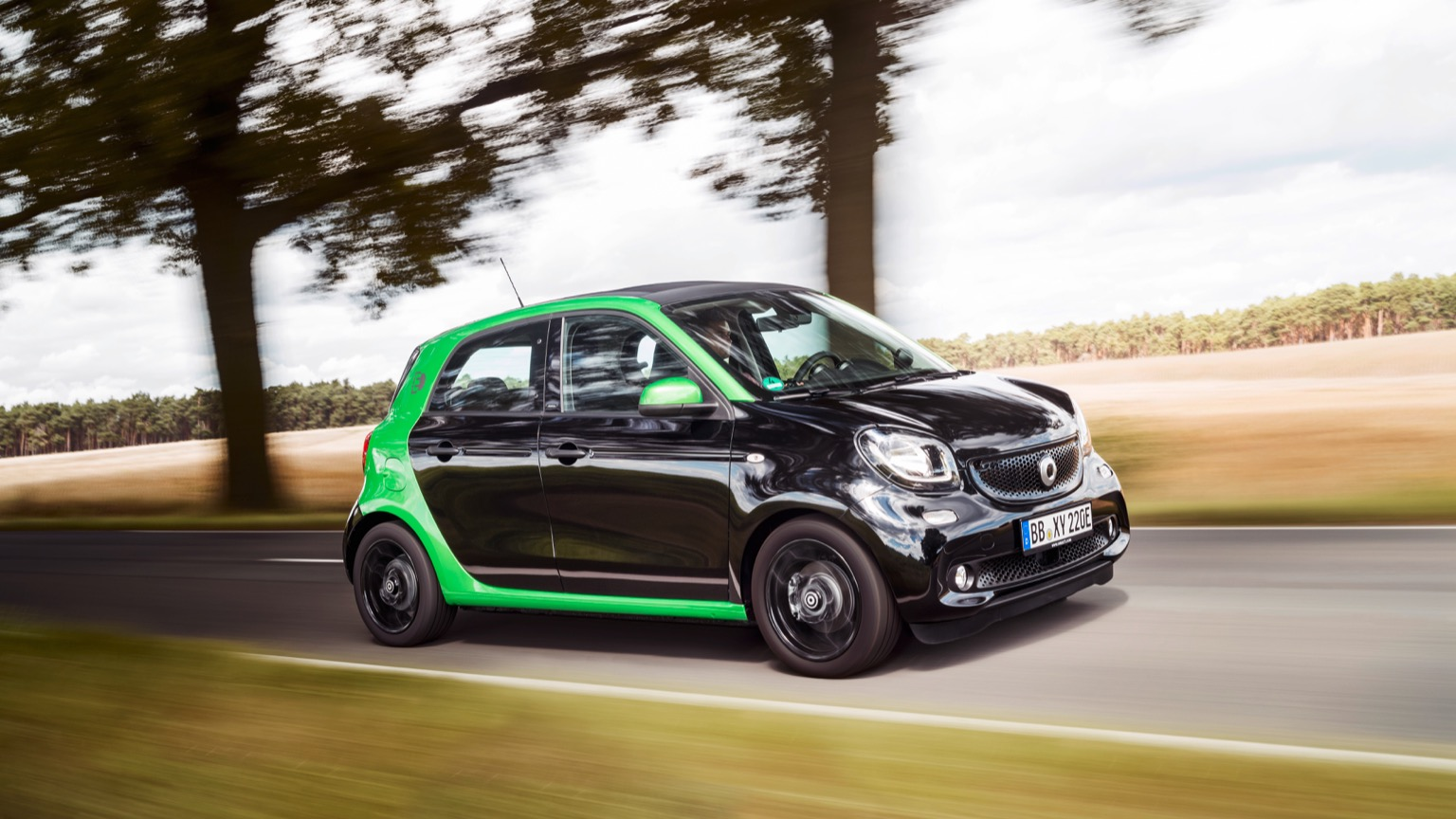 Smart EQ forfour (2018)