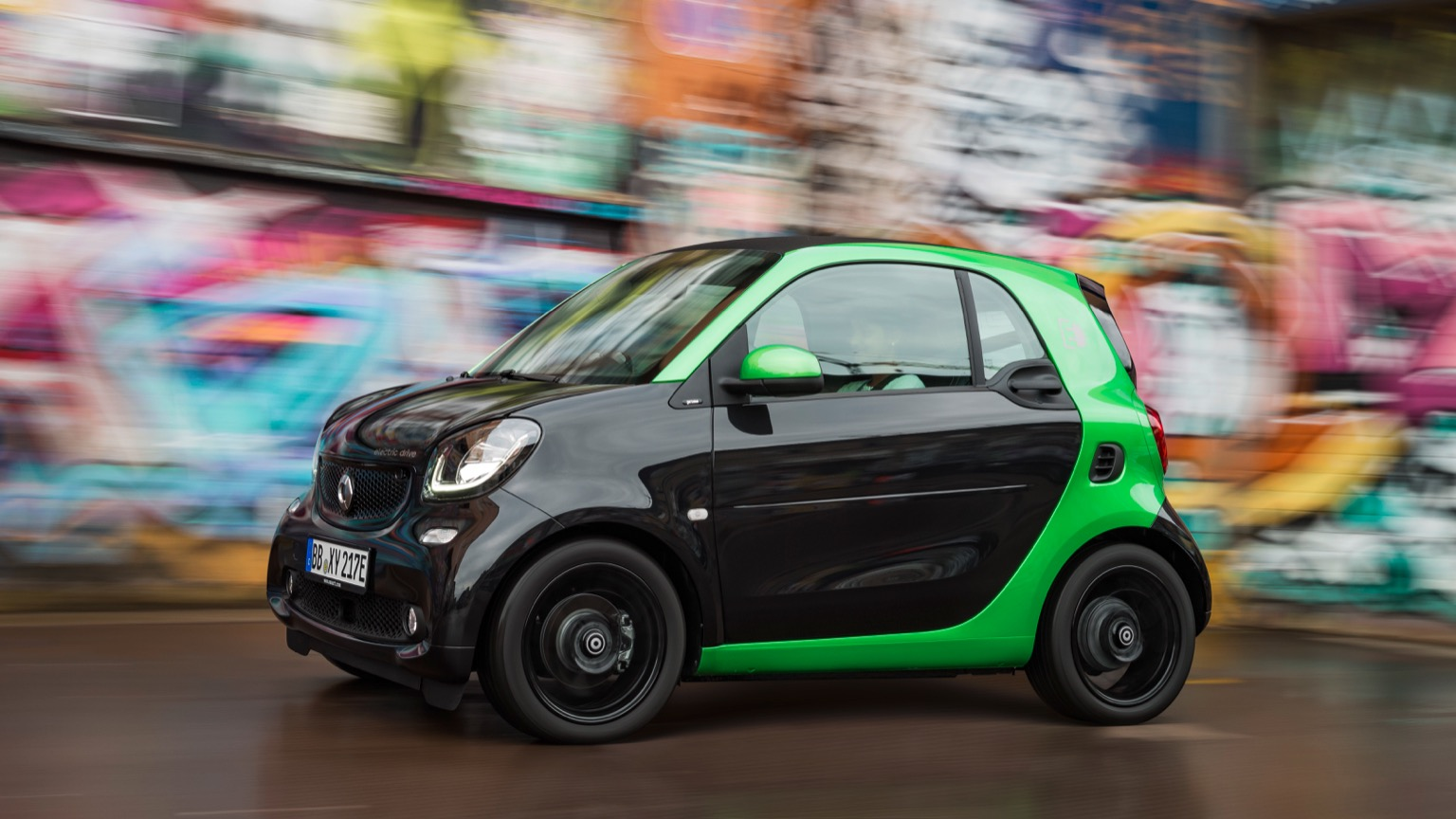 Smart EQ fortwo coupe (2018)
