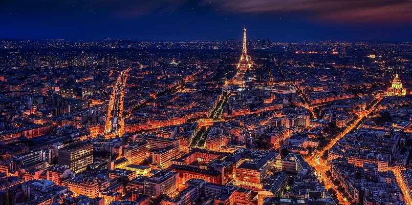 paris at night lights - france - ev charger incentives guide - wallbox