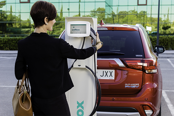 ev charging stations in the service industry